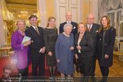Ausstellung ´Die Kammermaler´ - Albertina - Do 26.02.2015 - Familienfoto Franz und Elisabeth MERAN, Katharina, Johannes95