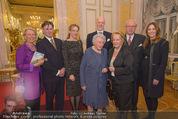 Ausstellung ´Die Kammermaler´ - Albertina - Do 26.02.2015 - Familienfoto Franz und Elisabeth MERAN, Katharina, Johannes96