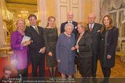 Ausstellung ´Die Kammermaler´ - Albertina - Do 26.02.2015 - Familienfoto Franz und Elisabeth MERAN, Katharina, Johannes97