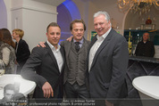 Filmball Cocktail - Kempinski Vienna - Do 12.03.2015 - Manfred SCH�DSACK, Edi FINGER, Daniel QUINN18