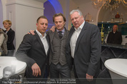 Filmball Cocktail - Kempinski Vienna - Do 12.03.2015 - Manfred SCH�DSACK, Edi FINGER, Daniel QUINN19