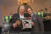 Filmball Cocktail - Kempinski Vienna - Do 12.03.2015 - Edi FINGER, Daniel QUINN29