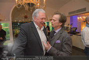 Filmball Cocktail - Kempinski Vienna - Do 12.03.2015 - Edi FINGER, Daniel QUINN30