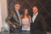Filmball Cocktail - Kempinski Vienna - Do 12.03.2015 - Daniel BELLENS m: Freundin Luisa Nikita BLACK, Manfred SCH�DSAC34