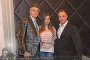 Filmball Cocktail - Kempinski Vienna - Do 12.03.2015 - Daniel BELLENS m: Freundin Luisa Nikita BLACK, Manfred SCH�DSAC35
