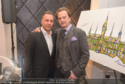 Filmball Cocktail - Kempinski Vienna - Do 12.03.2015 - Manfred SCH�DSACK, Daniel QUINN42