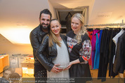 Fashion CheckIn - Le Meridien - Fr 13.03.2015 - Ines und Fadi MERZA (schwanger), Eva KRSAK (Just Eve)14