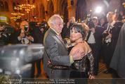 Vienna Filmball - Rathaus - Sa 14.03.2015 - Dieter HALLERVORDEN, Simone RETHEL153