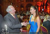 Vienna Filmball - Rathaus - Sa 14.03.2015 - Dieter HALLERVORDEN, Luisa Nikita BLACK231
