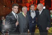 Vienna Filmball - Rathaus - Sa 14.03.2015 - Dieter HALLERVORDEN, Karl MERKATZ, Mark und Aaron KELLER235