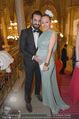 Vienna Filmball - Rathaus - Sa 14.03.2015 - Ines und Fadi MERZA (Ines schwanger)25