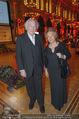 Vienna Filmball - Rathaus - Sa 14.03.2015 - Karl MERKATZ mit Ehefrau Martha74