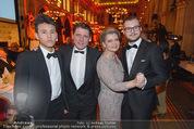Vienna Filmball - Rathaus - Sa 14.03.2015 - Andrea SPAZTEK Sohn Alexander, Christian SPATZEK Sohn Fabian87