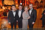 Vienna Filmball - Rathaus - Sa 14.03.2015 - Andrea SPAZTEK Sohn Alexander, Christian SPATZEK Sohn Fabian88