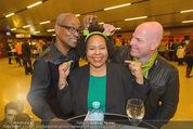 Shrek Premiere - Wiener Stadthalle - Di 17.03.2015 - Eddie COLE, Kim COOPER mit Freund15