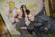 Shrek Premiere - Wiener Stadthalle - Di 17.03.2015 - Jazz GITTI mit Tochter Schomit, Alexander TUMA21