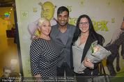 Shrek Premiere - Wiener Stadthalle - Di 17.03.2015 - Ramesh NAIR, Jazz GITTI mit Tochter Schomit 25