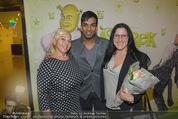 Shrek Premiere - Wiener Stadthalle - Di 17.03.2015 - Ramesh NAIR, Jazz GITTI mit Tochter Schomit 26