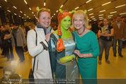 Shrek Premiere - Wiener Stadthalle - Di 17.03.2015 - Dagmar SCHELLENBERGER, Dagmar KOLLER, Shrekfigur8
