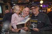 Georg Danzer Buchpräsentation - Cafe PlemPlem Interspot - Mi 18.03.2015 - Franz Christian SCHWARZ, Andy ZAHRADNIK, Enkerl Mia1