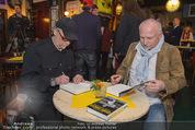 Georg Danzer Buchpräsentation - Cafe PlemPlem Interspot - Mi 18.03.2015 - Franz Christian �Blacky� SCHWARZ, Andy ZAHRADNIK2