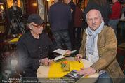 Georg Danzer Buchpräsentation - Cafe PlemPlem Interspot - Mi 18.03.2015 - Franz Christian �Blacky� SCHWARZ, Andy ZAHRADNIK3