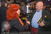 Georg Danzer Buchpräsentation - Cafe PlemPlem Interspot - Mi 18.03.2015 - Milica THEESSINK, Rudolf Purzel KLINGOHR4