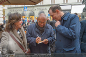 Tag der Poesie - Cafe Korb - Sa 21.03.2015 - Jan Mariusz DEMNER mit Ehefrau, Marcel L�FFLER51