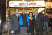 Kinopremiere ´Unter Blinden´ - Gartenbaukino - Di 24.03.2015 - Andy HOLZER, Eva SPREITZHOFER, Dieter und Jakob POCHLATKO1