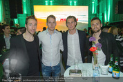 Bikinigala 2015 - MQ Halle E - Mi 25.03.2015 - Manuel ORTLECHNER mit Kollegen von Austria Wien91