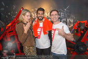 High5 Opening - High5 Fitnesscenter Wien - Fr 27.03.2015 - Andie GABAUER, Diana LUEGER mit Muskel-Model52