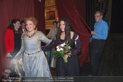 Anna Netrebko - Staatsoper - Fr 10.04.2015 - Anna NETREBKO (B�hnenfoto, bei Schlussapplaus Backstage)10
