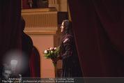 Anna Netrebko - Staatsoper - Fr 10.04.2015 - Anna NETREBKO (B�hnenfoto, bei Schlussapplaus Backstage)9