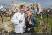 Opening - WeinBlick Feuersbrunn - Sa 11.04.2015 - Toni M�RWALD mit Ehefrau Eva9