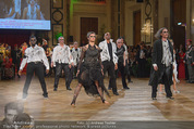 Dancer against Cancer - Hofburg - Sa 11.04.2015 - Geister-Gruppe mit Robert LETZ, Josef WINKLER, Hans Georg HEINKE292
