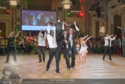 Dancer against Cancer - Hofburg - Sa 11.04.2015 - Geister-Gruppe mit Robert LETZ, Josef WINKLER, Hans Georg HEINKE301