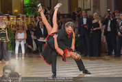Dancer against Cancer - Hofburg - Sa 11.04.2015 - Heinz HANNER, Verena PFL�GER312