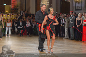 Dancer against Cancer - Hofburg - Sa 11.04.2015 - Heinz HANNER, Verena PFL�GER313