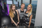Miss Vienna Wahl 2015 - ThirtyFive Twin Towers - Di 14.04.2015 - Kathi STEININGER, Georg FECHTER mit Freundin Clara29