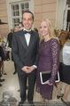 Fundraising Dinner - Albertina - Do 16.04.2015 - Christian KERN (�BB) mit Ehefrau Evelyn STEINBERGER-KERN10