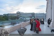 Fundraising Dinner - Albertina - Do 16.04.2015 - Terrasse mit Blick auf Museum102
