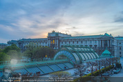 Fundraising Dinner - Albertina - Do 16.04.2015 - Terrasse mit Blick auf Museum104