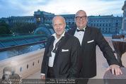 Fundraising Dinner - Albertina - Do 16.04.2015 - Andi Andreas LACKNER mit Freund Andreas OBERKAMINS108