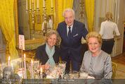 Fundraising Dinner - Albertina - Do 16.04.2015 - Harald und Ingeborg SERAFIN, Inge UNZEITIG112