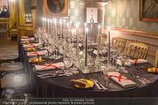 Fundraising Dinner - Albertina - Do 16.04.2015 - Dinnertische, Festsaal113