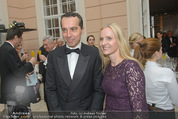 Fundraising Dinner - Albertina - Do 16.04.2015 - Christian KERN (�BB) mit Ehefrau Evelyn STEINBERGER-KERN12