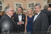 Fundraising Dinner - Albertina - Do 16.04.2015 - Christian KONRAD, Christian RAINER, Wolfgang und Brigitte HESOUN35