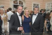Fundraising Dinner - Albertina - Do 16.04.2015 - Christian RAINER, Wolfgang HESOUN mit Ehefrau Brigitte38