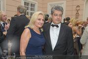 Fundraising Dinner - Albertina - Do 16.04.2015 - Wolfgang HESOUN mit Ehefrau Brigitte39