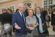 Fundraising Dinner - Albertina - Do 16.04.2015 - Harald und Ingeborg SERAFIN, Inge UNZEITIG4
